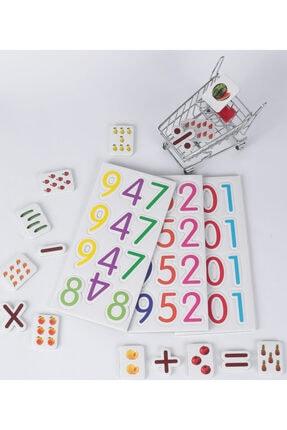 Zekice Eğitici Matematik Kartları (manyetik Sayılar Hediyeli) 4