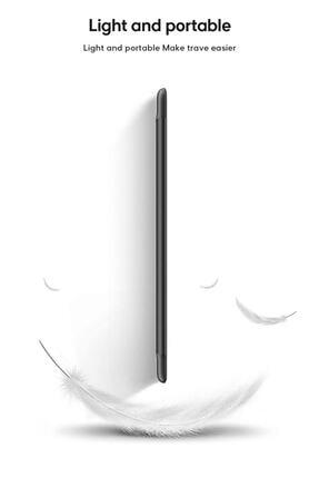 "MOBAX Apple Ipad 8.nesil 10.2"" Uyumlu Pu Deri Smart Case Siyah Kılıf A2270 A2428 A2429 A2430 3"