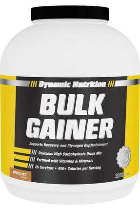 Dynamic Nutrition Dynamic Bulk Gainer 3000 gr (bisküvi Aromalı) 0