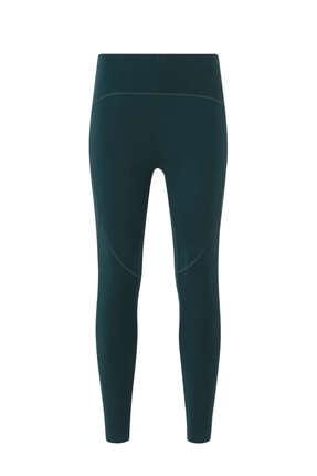 Oysho Kadın Yeşil Compressive Leggings Tayt 3