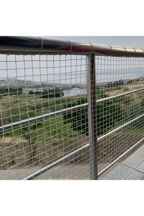 Nodes 150*400cm - Balkon Filesi Ağı - Kedi Filesi - Kuş Filesi - Çocuk Filesi - Beyaz 2