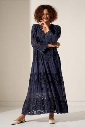 Camena Dantel Detaylı Elbise 2019070500212 0