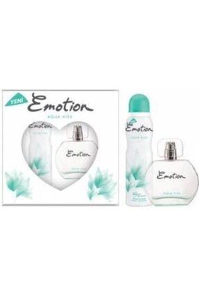 Emotion Aqua Kiss Bayan Edt 50 Ml + 150 Ml Deodorant Parfüm Seti 0