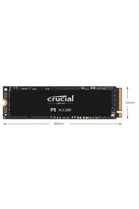 Crucial P5 1tb Ct1000p5ssd8 3400-3000 Mb/s Nvme Pcıe M.2 Ssd 3