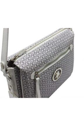 US Polo Assn Kadın Beyaz Çapraz Çanta 1
