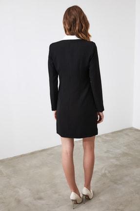 TRENDYOLMİLLA Siyah Ceket Elbise TWOAW20EL0334 3