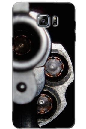 Noprin Samsung Galaxy Note 5 Kılıf Silikon Baskılı Desenli Arka Kapak 0