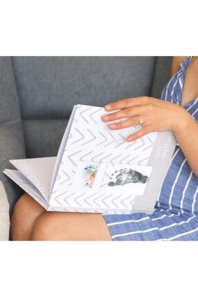 Fufizu Modern Bebek Anı Defteri - Ilk 1 Yıl Hamilelik Ve Anne Bebek Günlüğü - Ajandası + Baskı Kiti 0