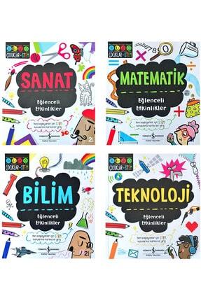 İş Bankası Kültür Yayınları Eğlenceli Etkinlikler Bilim Kültür Serisi - 1 0
