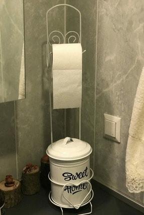Trend Kitchen Banyo Çöp Kovası Ve Kağıtlık Seti 0