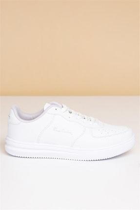 Pierre Cardin Kadın Günlük Spor Ayakkabı-beyaz 2