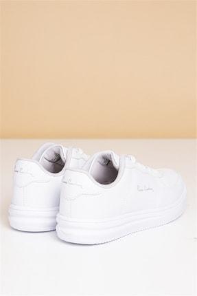 Pierre Cardin Kadın Günlük Spor Ayakkabı-beyaz 3