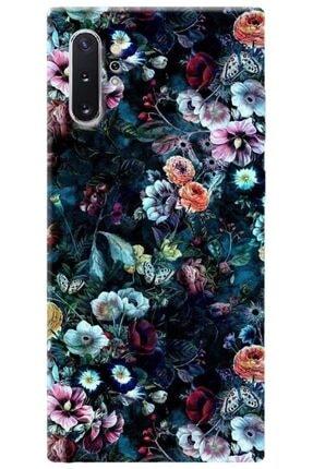 Turkiyecepaksesuar Samsung Galaxy Note 10 Plus Kılıf Silikon Baskılı Desenli Arka Kapak 0