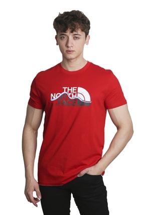 The North Face Erkek Kırmızı T-Shirt 1