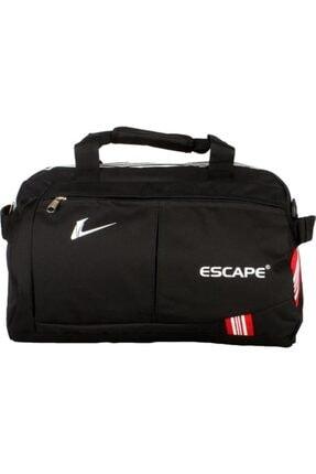 ESCAPE 112 Yeni Sezon Büyük Boy Spor Seyahat Çantası Siyah 1