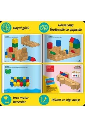 Smartfox Osman Abalı Adeda Dikkati Güçlendirme Seti Plus 4 Yaş (26+106 Ahşap Materyal+3 Kitap Takım) 2