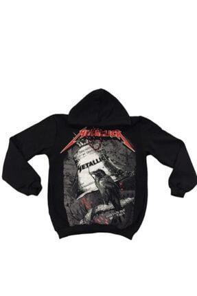 Orçun Özkarlıklı Unisex Siyah Metallica Sweatshirt 1