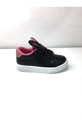 Ortopedik Taban Siyah Tavşan Spor Ayakkabı 20