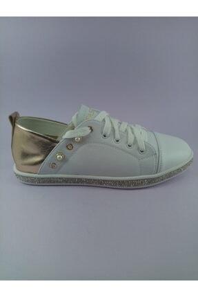 Annie Hall Kriste Bell Beyaz Kadın Spor Ayakkabı 2