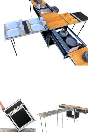 Praticcamp Pratik Kamp Mutfağı Büyük Boy 0