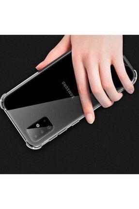 Mobilteam Samsung Galaxy S20 Anti-shock Şeffaf Kapak 3