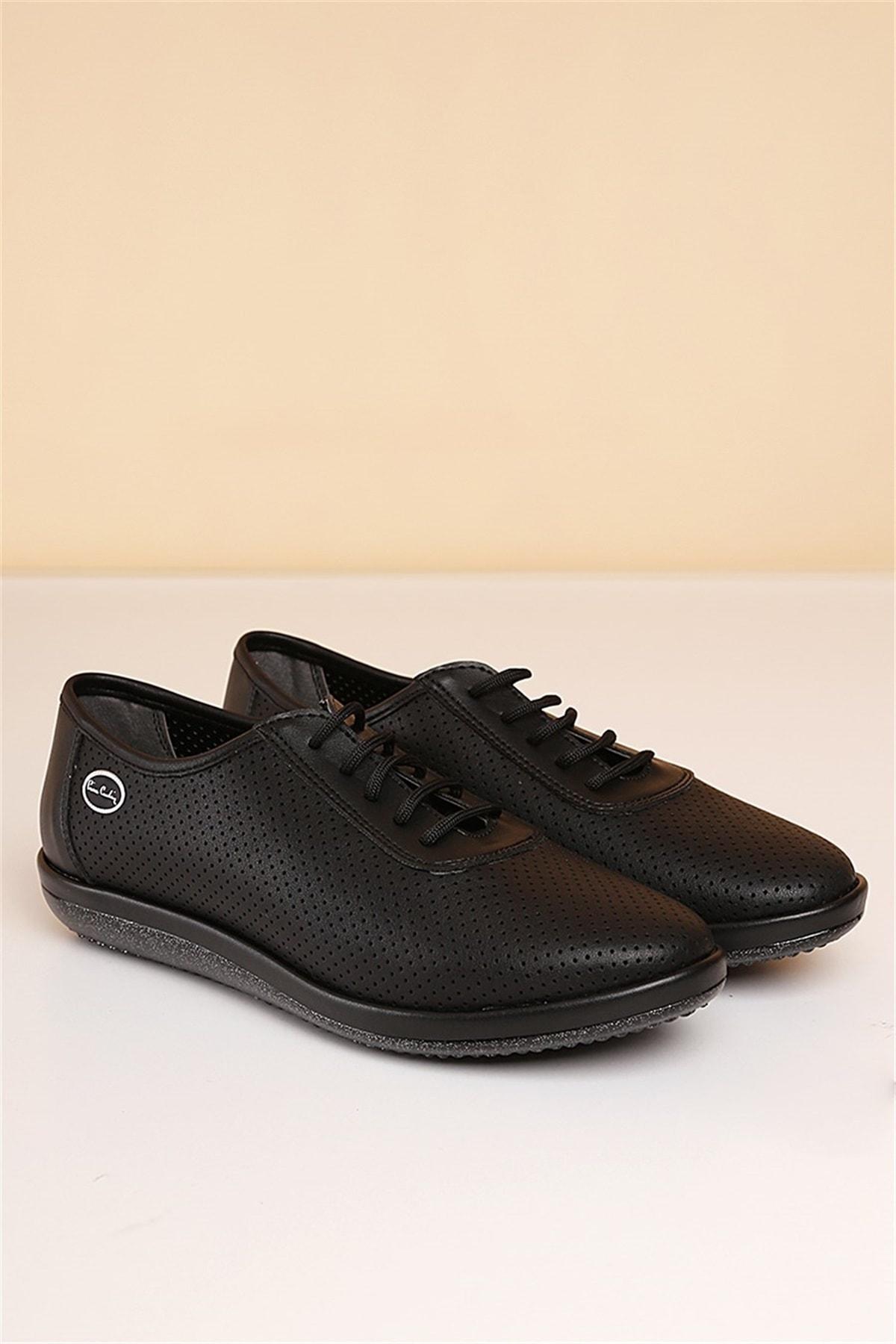Pierre Cardin Kadın Günlük Ayakkabı -siyah