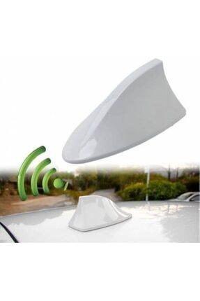 Emroto Hyundai H Elektrikli Balina Shark Tipi Beyaz Araç Anteni 0