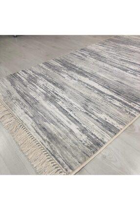 Madame Clean Home Esinti Kaymaz Dokuma Pamuk Taban Bambu Soft Halı Mc917 1