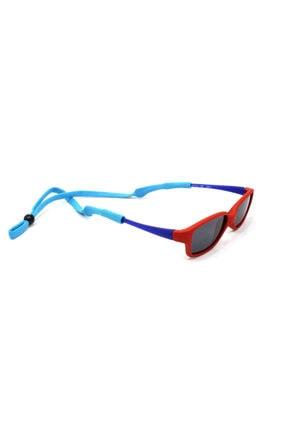 FREE Çocuk Mavi Esnek Yassı  Sporcu Gözlük Ipi 1