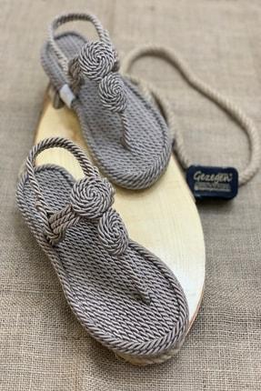 Shoe Miss Elena Hasır Sandalet 0