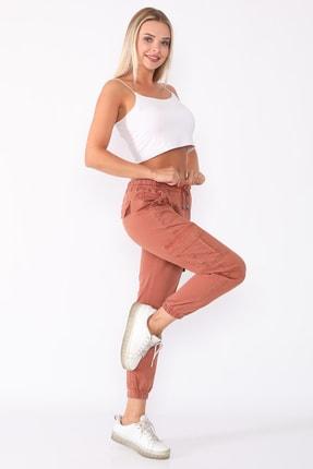 PodiumStar Kadın Bakır Kargo Pantolon 2