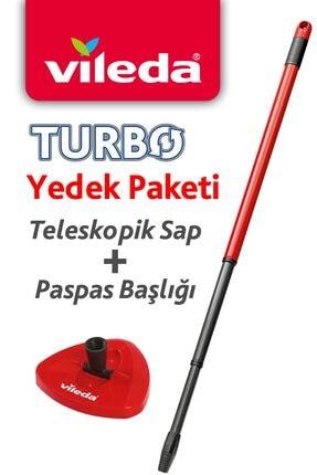 Vileda Turbo Sap + Üçgen Başlık 0