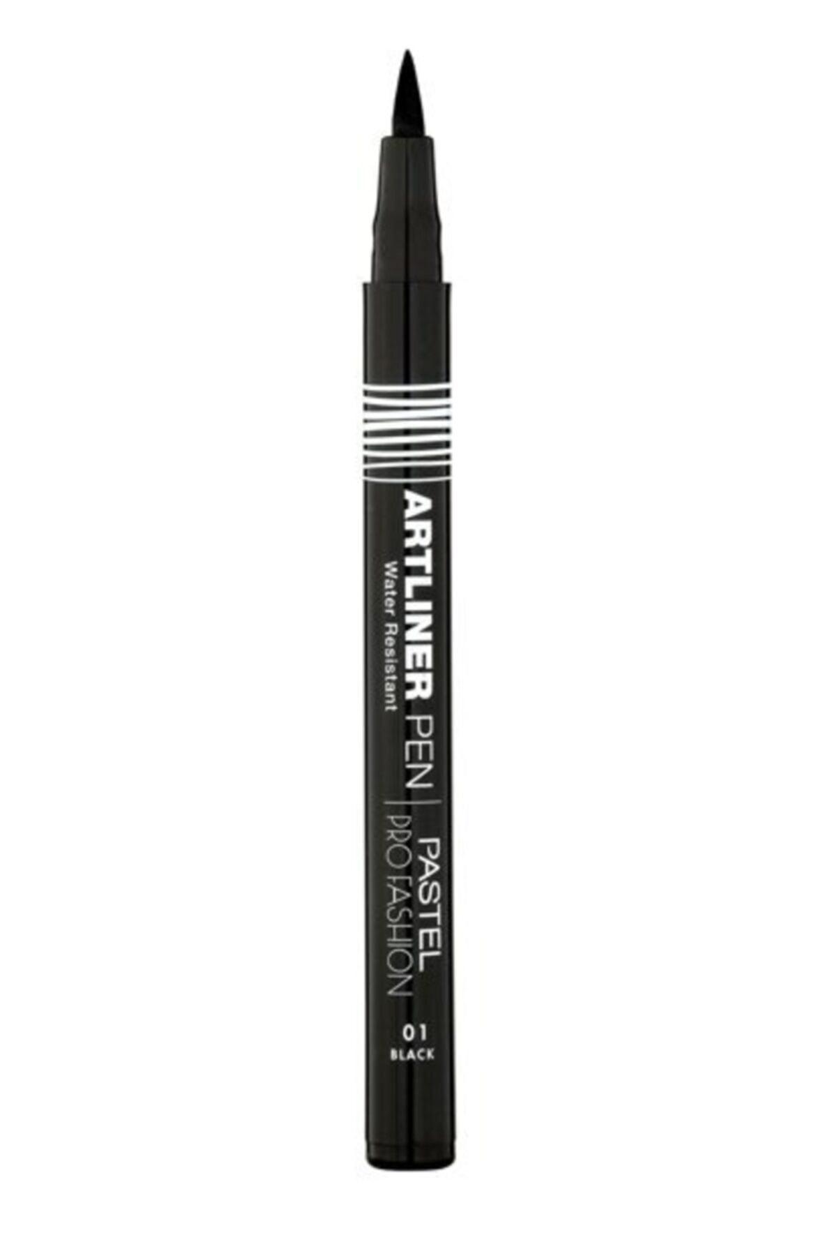 Pastel Siyah Kalem Eyeliner - Profashion Artliner Pen No 01 Black 8690644010538