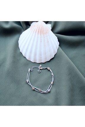 ARGON JEWELLERY 925 Ayar Yıldız Figürlü Kadın Gümüş Bileklik 0