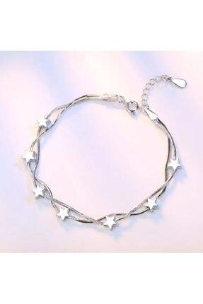 ARGON JEWELLERY 925 Ayar Yıldız Figürlü Kadın Gümüş Bileklik 3