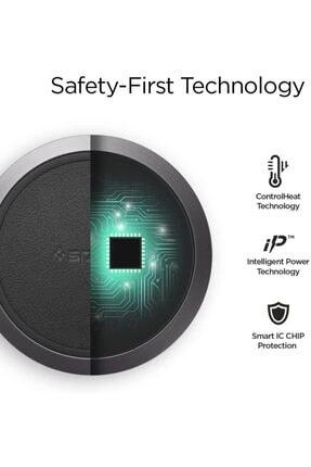 Spigen Essential F308w Hızlı Kablosuz Şarj Cihazı Ios 7.5w (qı Sertifikalı Tüm Cihazlar Ile Uyumlu) 2