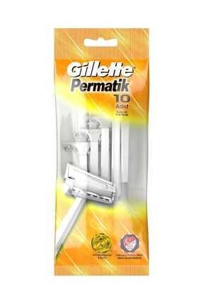 Gillette Kullan At Tıraş Bıçağı 10'lu 0