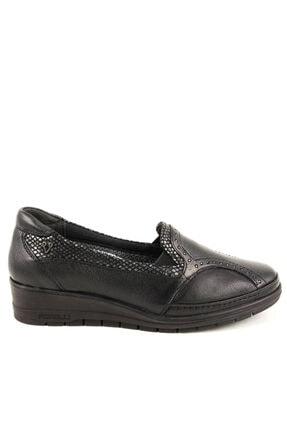 تصویر از 25109 Kadın Günlük Hakiki Deri Ayakkabı