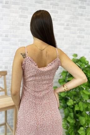 Jolenth Çiçekli Askılı Elbise 3