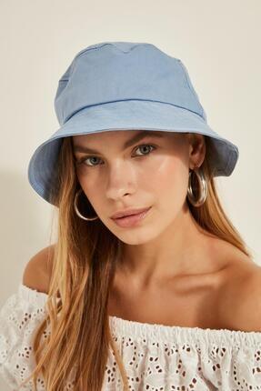 Y-London 13372 Bebe Mavi Bucket Şapka 0