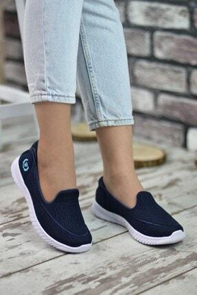 Riccon Lacivert Kadın Sneaker 0012553 1