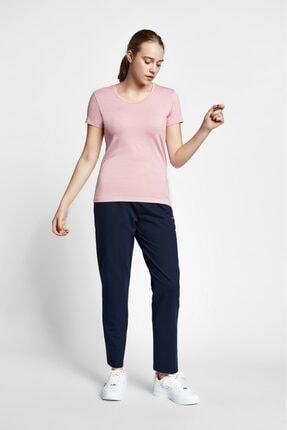 19s-2205-19b Pembe Kadın Kısa Kollu T-shirt resmi