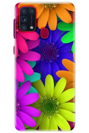 Noprin Samsung Galaxy M31 Kılıf Silikon Baskılı Desenli Arka Kapak 0