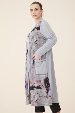 SEDNA Büyük Beden Digital Baskılı Uzun Tunik-orijinal 1033-151 3