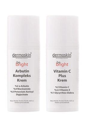 Dermoskin Be Bright Arbutin Kompleks Krem + Be Bright Vitamin C Plus Krem -2'li Avantaj Paket 0