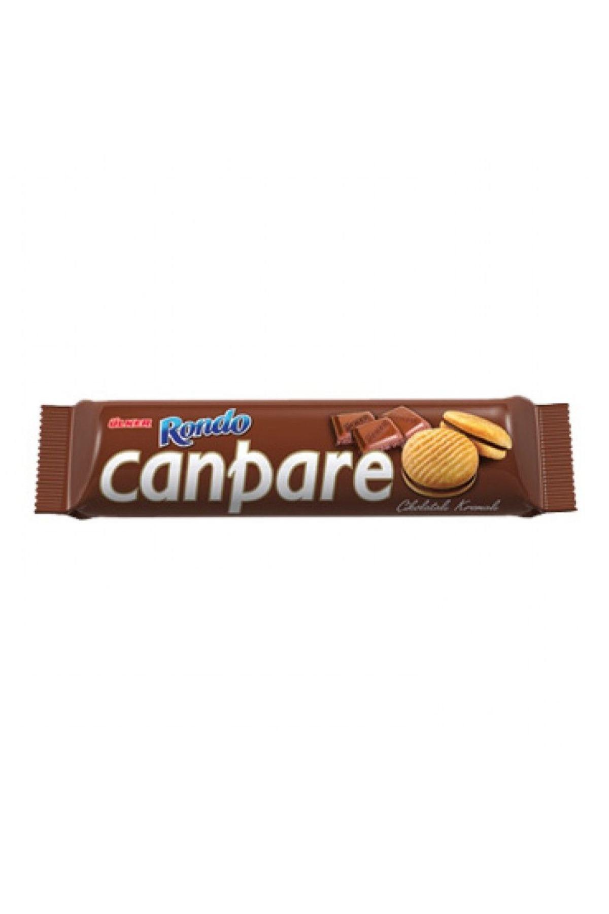 Ülker Canpare Çikolatalı Kremalı Bisküvi 81 gr 0
