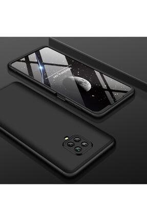 AksesuarLab Xiaomi Redmi Note 9s Kılıf 360 Tam Koruma Kılıf - 360 Derece Tam Koruma - Siyah 0