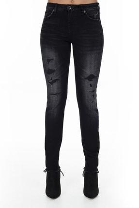 Armani Exchange Kadın Siyah Jeans Kot Pantolon J01 1
