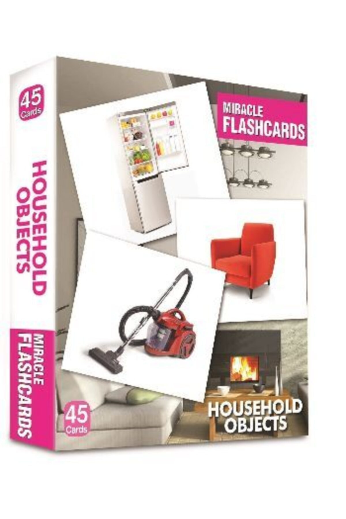 Miracle Flashcards Household-objects 45 Cards