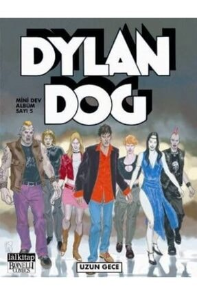 Lal Kitap Dylan Dog Mini Dev Albüm 5 0